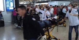 Çin Havaalanında patlama meydana gedli