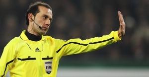 Cüneyt Çakır'ın EURO 2016 macerası sona erdi