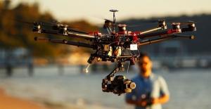 Drone ile mahkemelik oldu