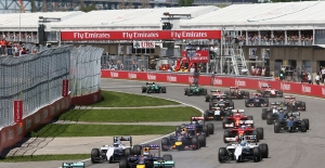 Formula 1 Kanada Grand Prix'i yarın başlıyor