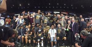 NBA'de Şampiyon Cleveland Cavaliers oldu!