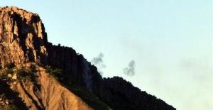 PKK üs bölgelerine saldırdı! Anında karşılık verildi