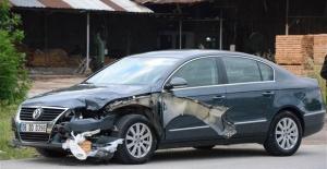 Sakarya'da acı kaza: Pidesi aracın tamponunda kaldı!