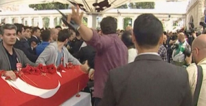 Şehit cenazesinde Kılıçdaroğlu gerginliği!