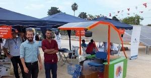Soli Güneş Festivali'nde güneş enerjisiyle çalışan araçlar tanıtıldı