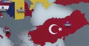TRT İstanbul'un Avrupa yakasını ve Trakya bölgesini Türkiye'den saymadı!