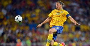 Zlatan İsveç'i bıraktı