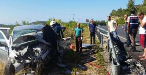 Antalya Manavgat'ta trafik kazası, 2 ölü, 6 yaralı