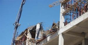 AVM inşaatında göçük: Yaralılar var!