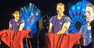 Coldplay, Berlin konserinde Atatürk Havalimanı saldırısını kınadı