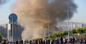 Cumhurbaşkanlığı Külliyesi yakınlarına uçak bombası: 5 ölü!