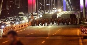 Darbe girişiminde Boğaziçi Köprüsü'nde bulunan 22 yeniden tutuklandı