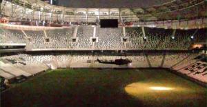 Darbeci askerler Vodafone Arena'ya böyle iniş yapmış!