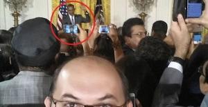 Darbecilerden Beyaz Saray'da Obama ile selfie