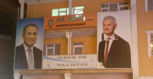 Davutoğlu'na Binali Yıldırım'lı Photoshop
