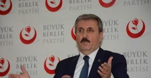 BBP Genel Başkanı Destici: Milli iradenin yanındayız