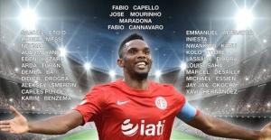 Dünya futbol yıldızları Çocuklar için Antalya'da
