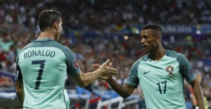 EURO 2016'da ilk finalist Portekiz oldu - Portekiz Galler Maç Özeti