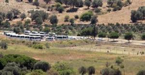 Foça'daki askeri üsse operasyon: Çok sayıda gözaltı!