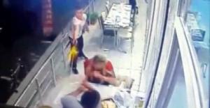 Lokantada yemek yerken öldürüldü! An be an kameraya yansıdı