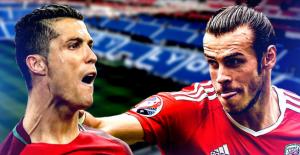 Ronaldo, Bale'i ikiye katladı! Portekiz finalde