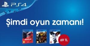 Sony PS4 Oyunlarında Fırsat Başladı! 69 TL!
