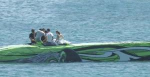Aslı Enver ve Murat Boz, Acun Ilıcalı'nın teknesinde aşka geldi