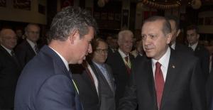 Cumhurbaşkanı Erdoğan, Metin Feyzioğlu ile görüştü