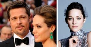 Angelina Jolie ve Brad Pitt boşanıyor! Aralarına Marion Cotillard mı girdi?