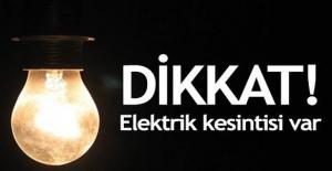 İstanbul Anadolu yakasında 8 ilçeye elektrik verilmeyecek