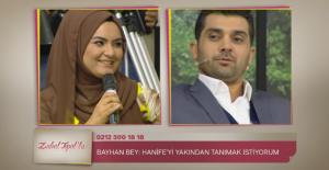 Popstar Bayhan, fenomen gelin adayı Hanife'ye talip oldu
