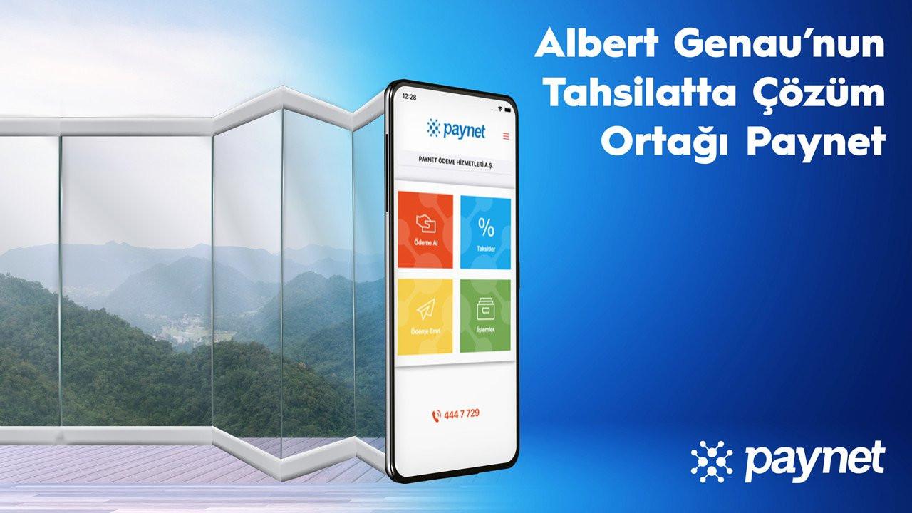 Albert Genau, satışlarının yüzde 41'ini Paynet sistemleri aracılığıyla tahsil ediyor