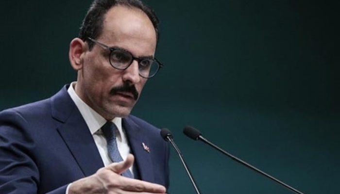 Cumhurbaşkanlığı Sözcüsü Kalın'dan eski IŞİD'le mücadele temsilcisine yanıt