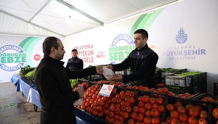 İstanbullular tanzim satışta en çok domates aldı