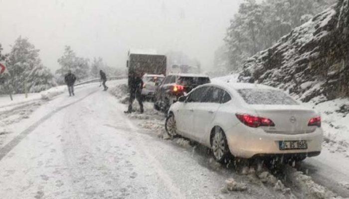Meteoroloji'den son hava durumu tahmini uyarısı! (Yoğun kar uyarısı)