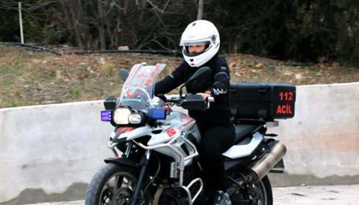 Türkiye'nin ilk kadın motosikletli ATT'si