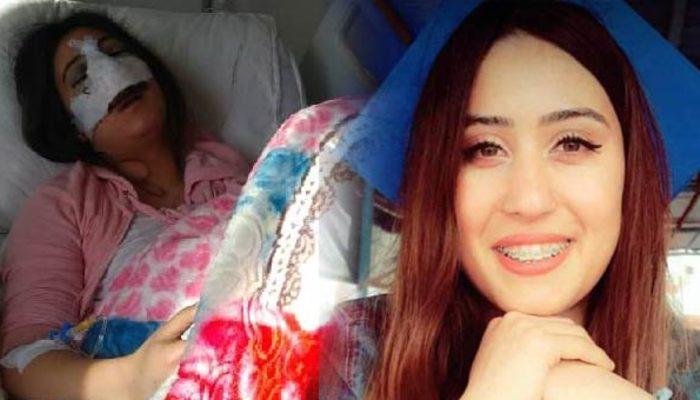 Üniversite öğrencisi Leyla Sönmez burun ameliyatından sonra komaya girdi