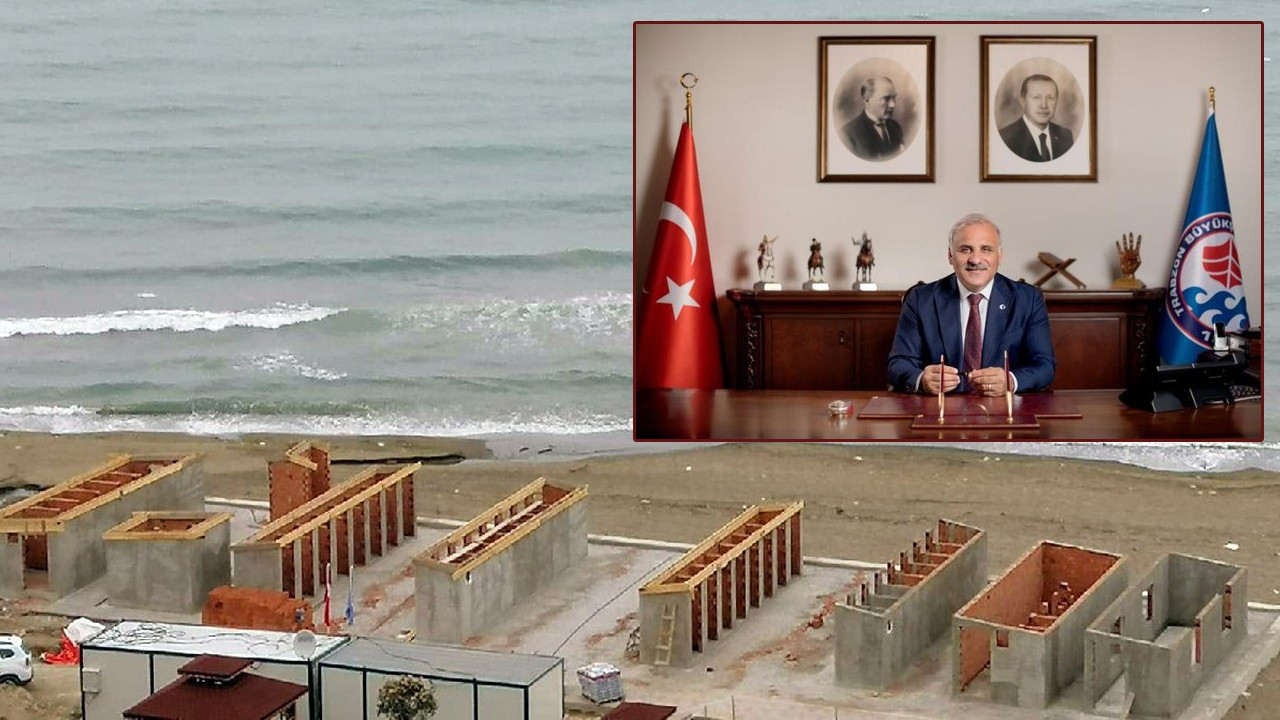Trabzon'da plaja neden beton döküldü?