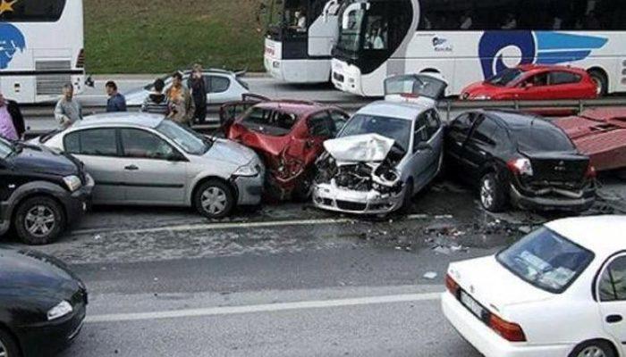 Trafik kazalarında 2018'de acı bilanço