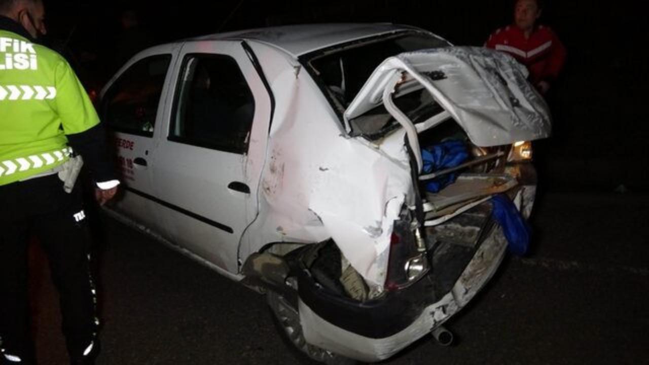 Trafik kazası geçiren ünlü oyuncu yaralandı