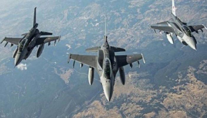 TSK'dan Kuzey Irak'taki teröristlere hava harekatı