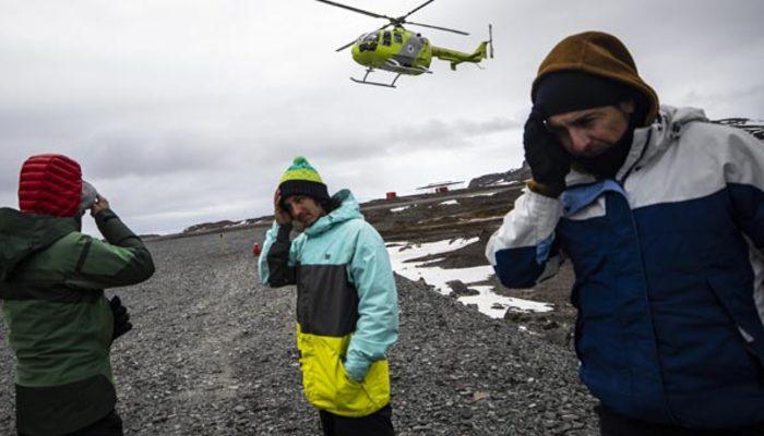 Türk ekibi, Antarktika Bilim Seferi'nden döndü