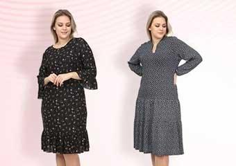 Türkiye'nin Büyük Beden Kadın Giyim Markası Lilas XXL Giyim