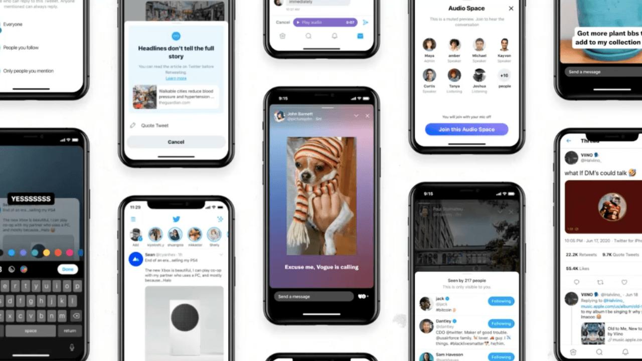 Twitter'daki yeni özellikler: Ses odaklı Audio Spaces ve Hikayeler benzeri Fleets