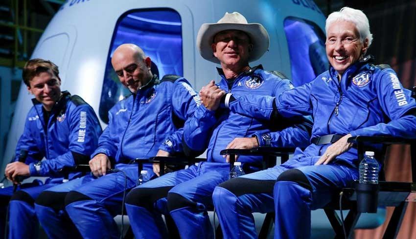 Uzaya çıkan en yaşlı insandan Blue Origin eleştirisi: Dünyayı göremedim