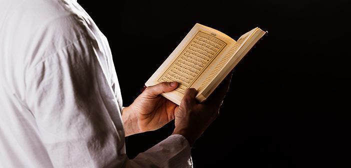 Vâkıa Suresi 45. Ayet Meali, Arapça Yazılışı, Anlamı ve Tefsiri