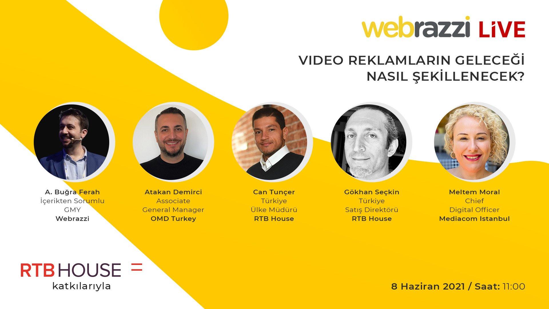Video reklamlarının geleceğine dair tüm detayları, 8 Haziran'da gerçekleşecek canlı yayınımızda konuşacağız