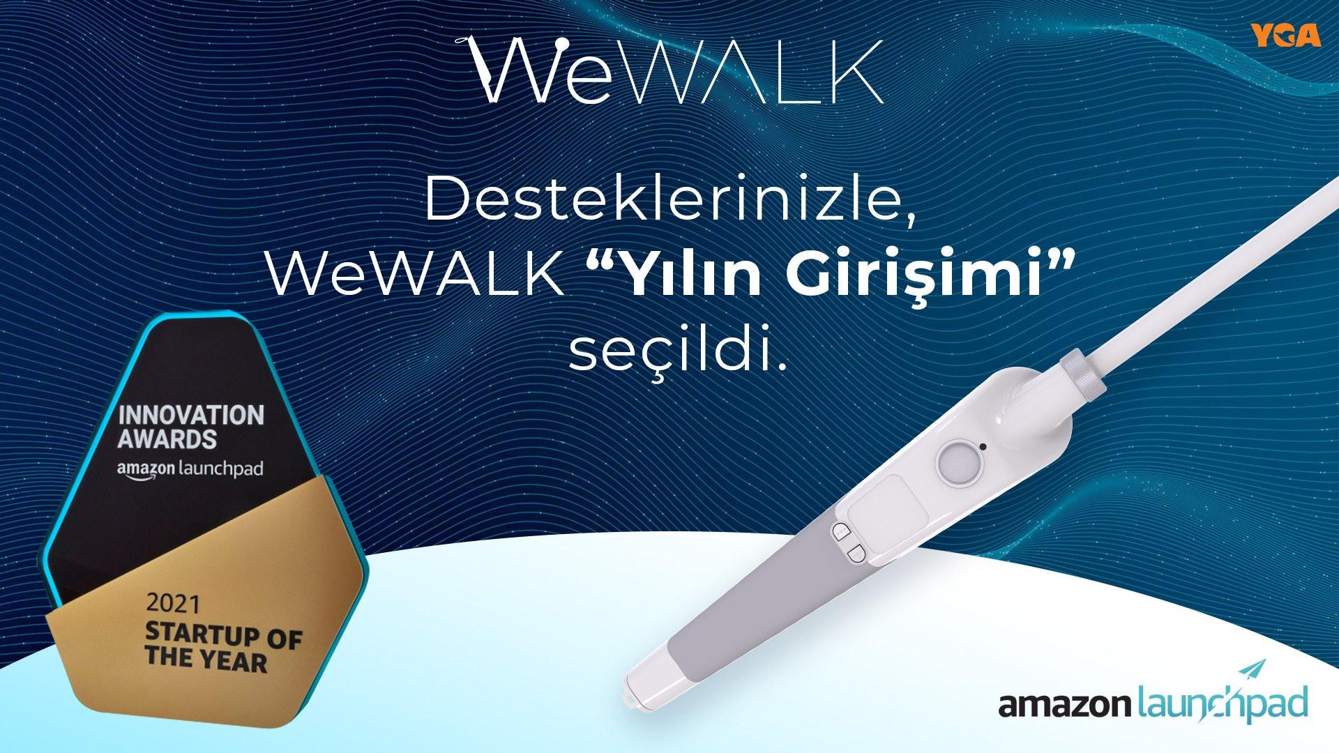 WeWALK, Amazon tarafından