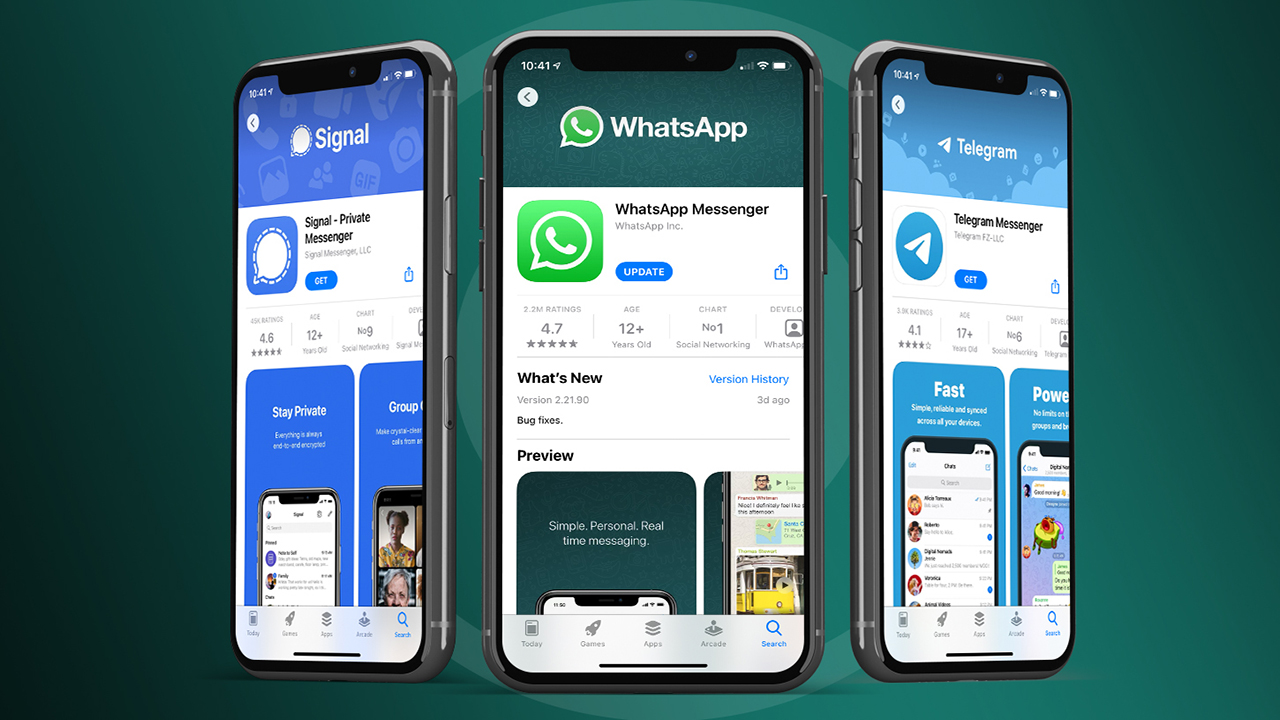 WhatsApp'ın yeni gizlilik politikası rakiplerine yaradı