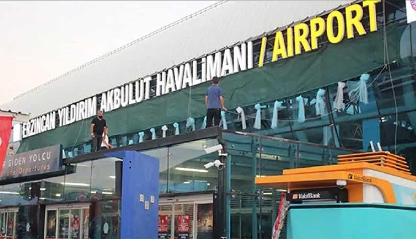 Yıldırım Akbulut'un adı Erzincan Havalimanı'na verildi